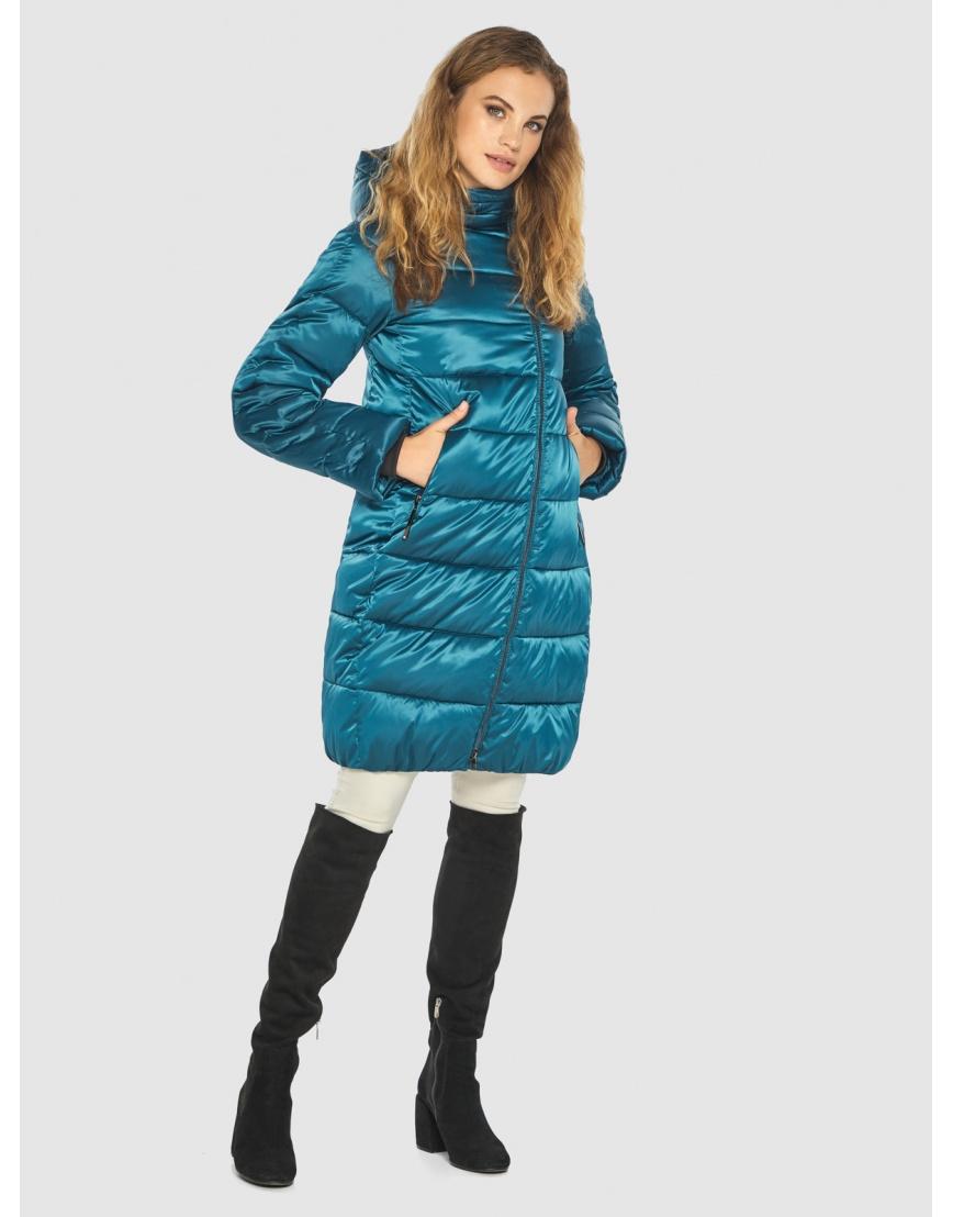 Комфортная аквамариновая куртка Kiro Tokao женская 60048 фото 1