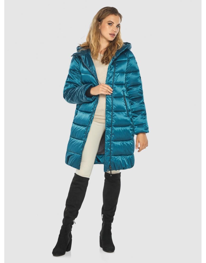 Комфортная аквамариновая куртка Kiro Tokao женская 60048 фото 2