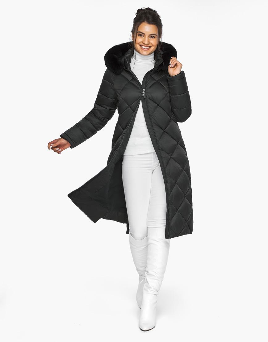 Модный женский воздуховик Braggart черный модель 31046 фото 3
