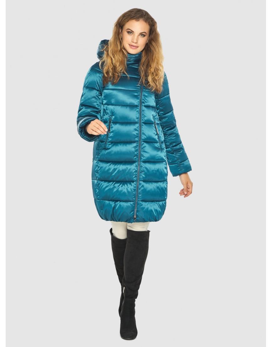 Комфортная аквамариновая куртка Kiro Tokao женская 60048 фото 3
