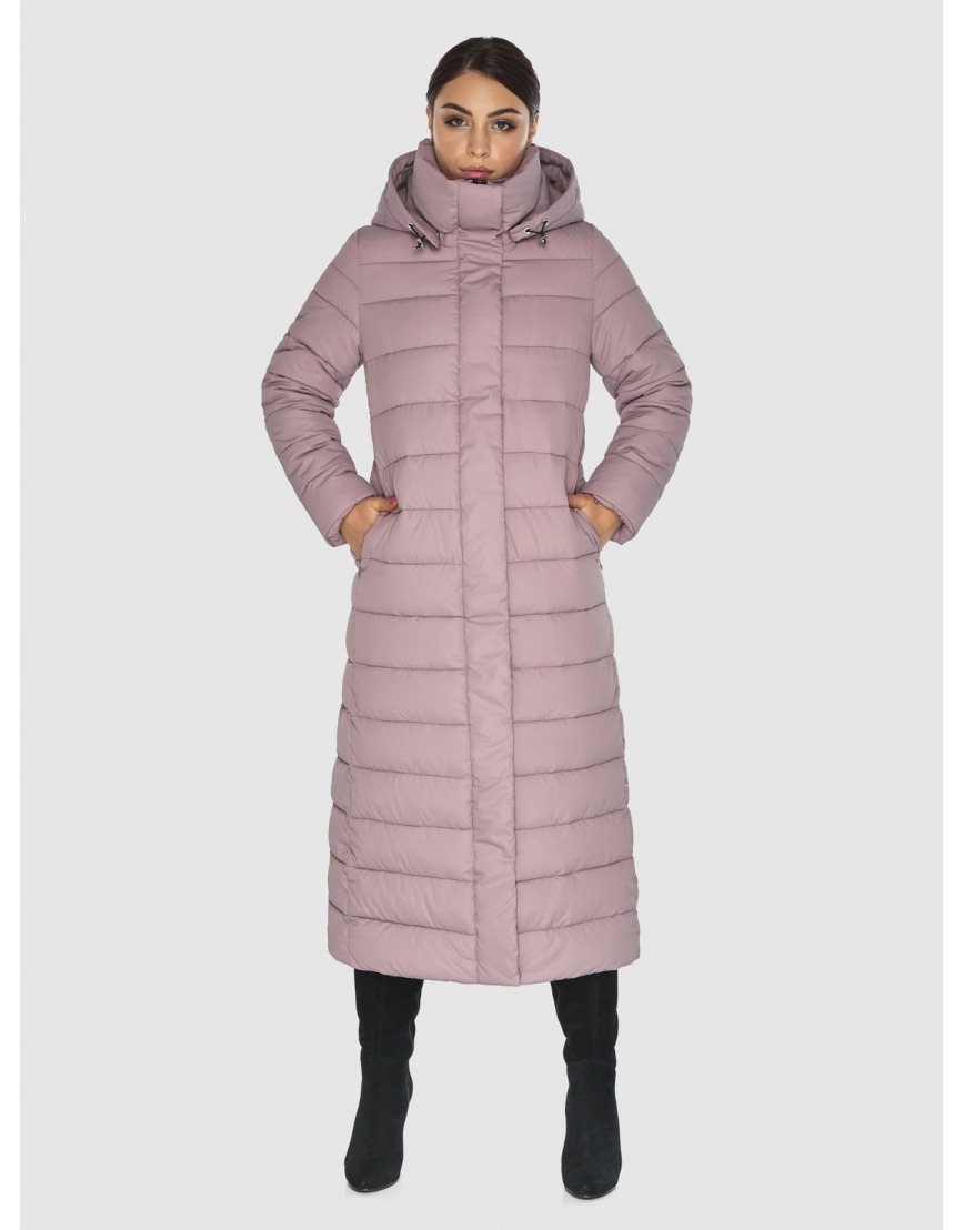 Брендовая женская куртка Wild Club цвет пудра 524-65 фото 3