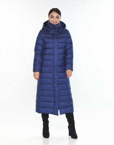 Комфортная женская куртка Wild Club синяя 524-65 фото 1