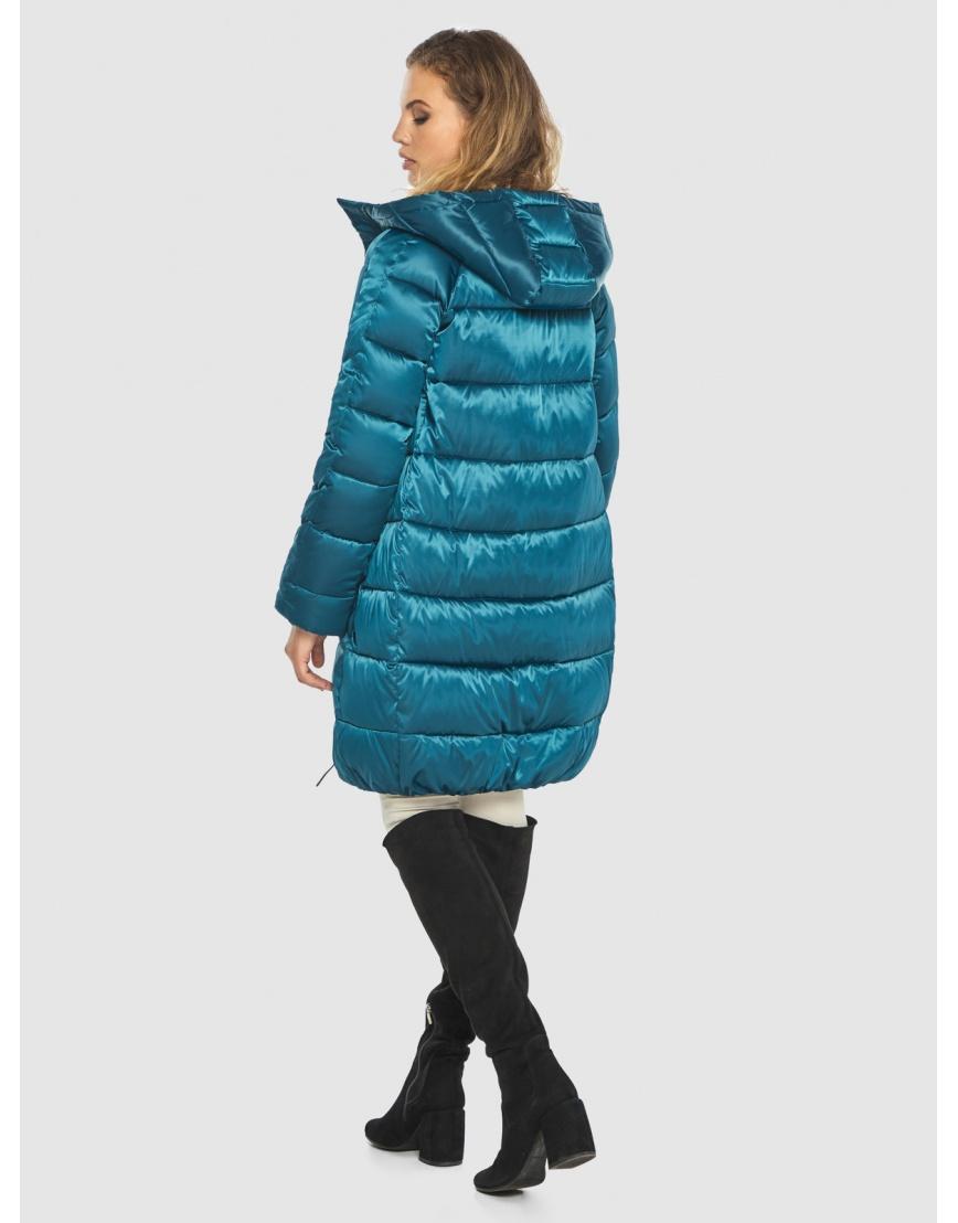 Комфортная аквамариновая куртка Kiro Tokao женская 60048 фото 4