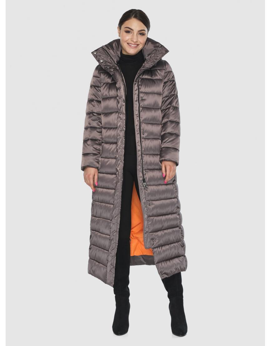 Стильная женская куртка Wild Club капучиновая 524-65 фото 2
