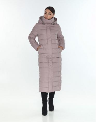 Женская стильная куртка Wild Club цвет пудра 524-65 фото 1
