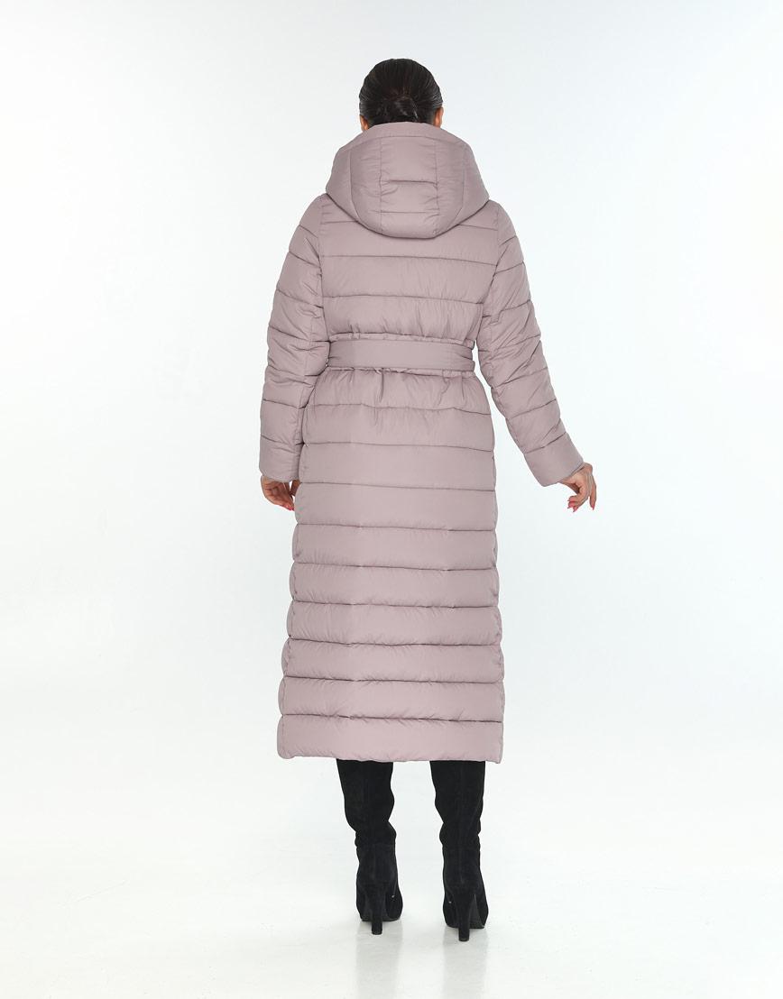 Женская стильная куртка Wild Club цвет пудра 524-65 фото 3