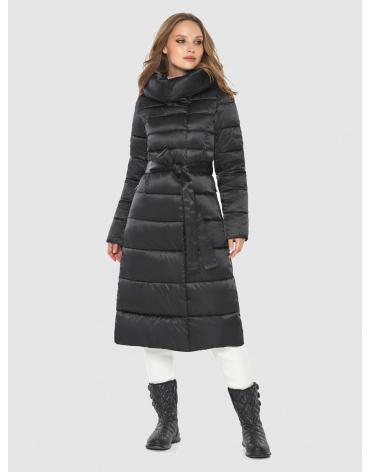Тёплая женская куртка Tiger Force чёрная TF-50214 фото 1