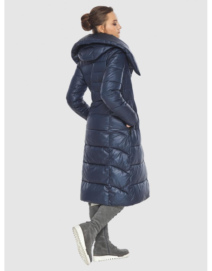 Куртка женская синяя Wild Club стёганая 586-25 фото 2