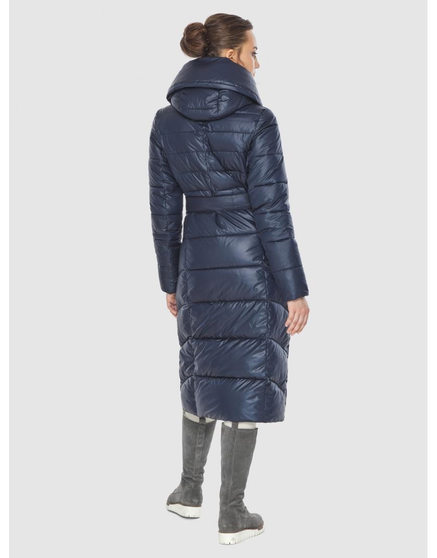 Куртка женская синяя Wild Club стёганая 586-25 фото 4