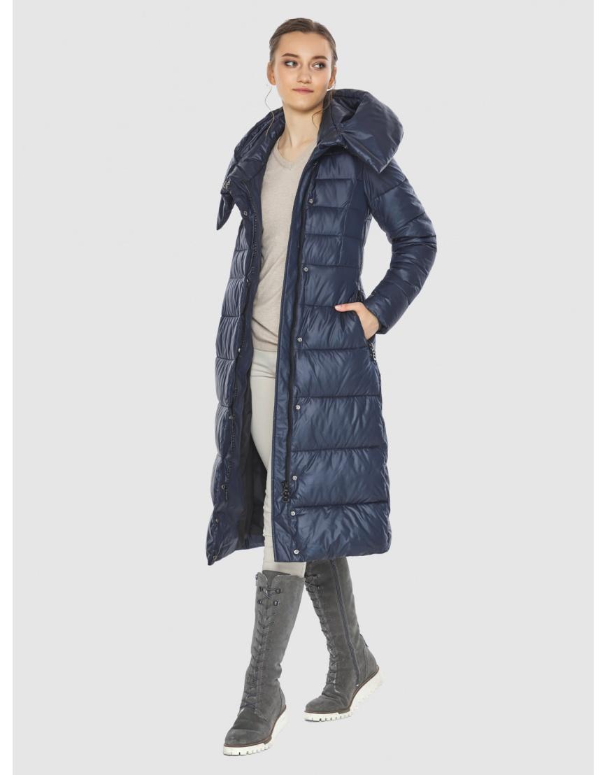 Куртка женская синяя Wild Club стёганая 586-25 фото 6