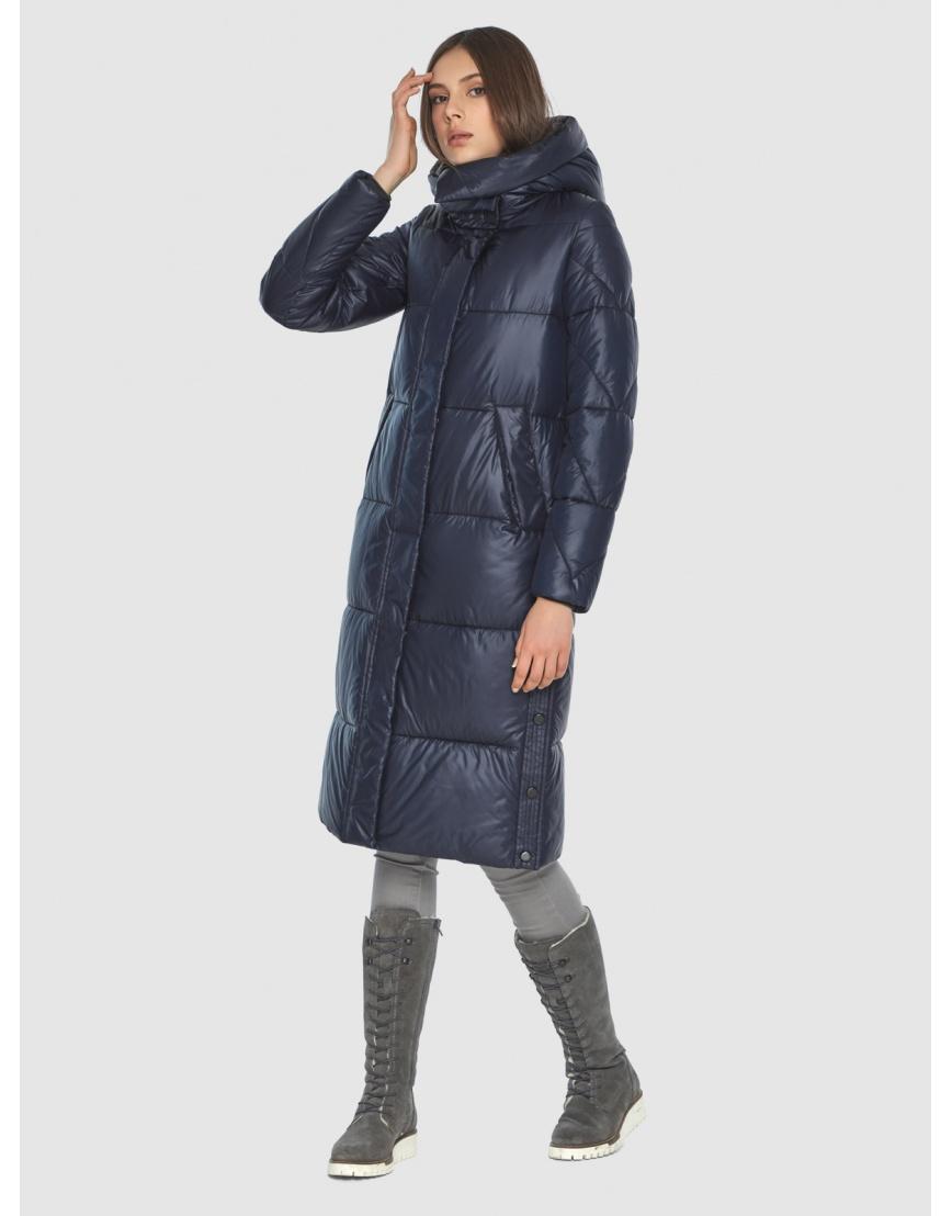 Куртка стильная подростковая Wild Club синяя зимняя 534-23 фото 1