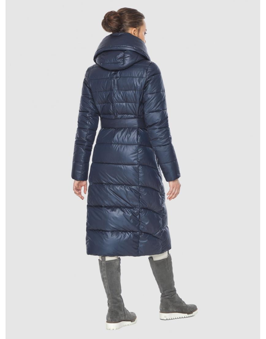 Куртка женская синяя Wild Club стёганая 586-25 фото 5