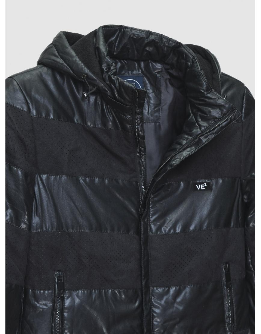 48 (M) – последний размер – куртка VE2 чёрная осенне-весенняя на мужчину 200021 фото 3