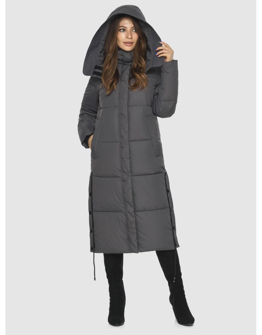 Практичная куртка серая женская Ajento 23160 фото 3