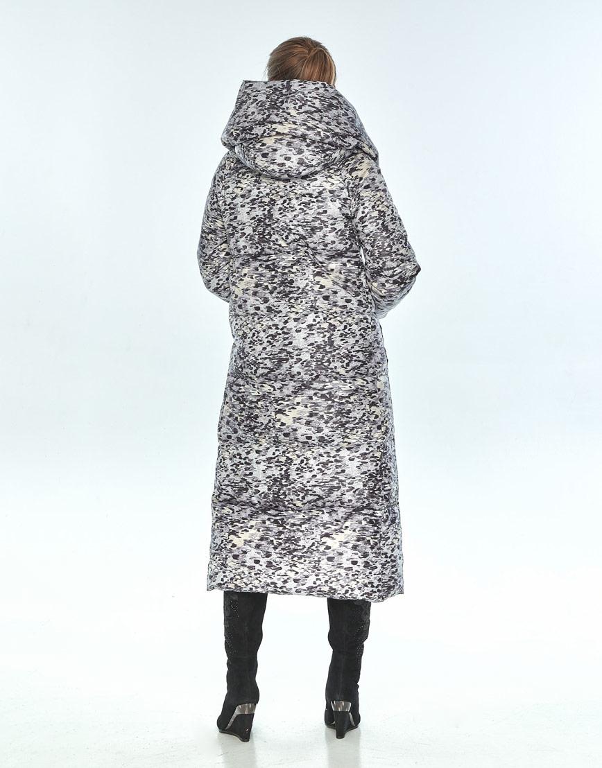 Практичная куртка женская Ajento с рисунком зимняя 21550 фото 3