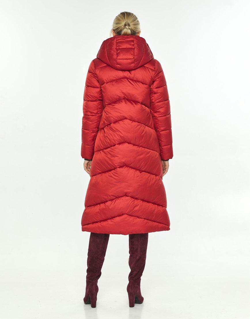 Яркая красная куртка на зиму женская Kiro Tokao 60035 фото 3