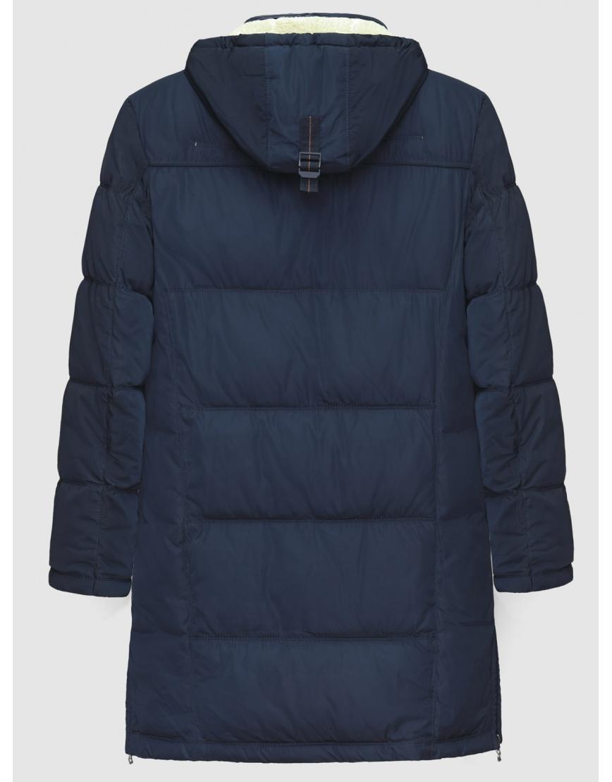 50 (L) – последний размер – длинная куртка ZPJV синяя мужская зимняя 200023 фото 2