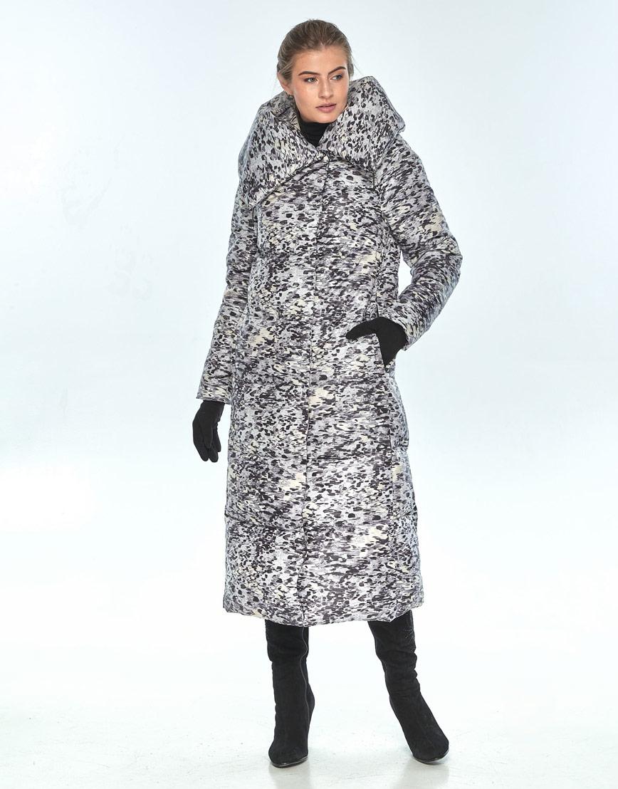 Практичная куртка женская Ajento с рисунком зимняя 21550 фото 1
