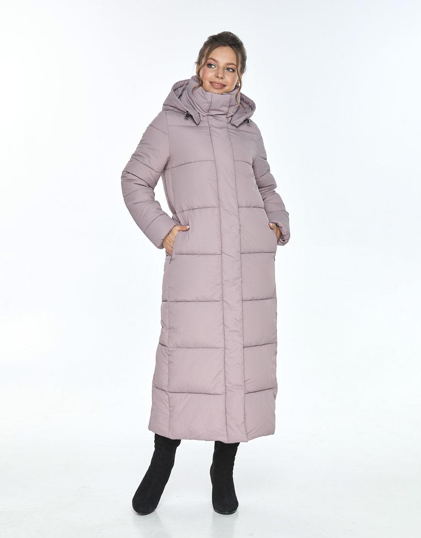 Пудровая куртка Ajento удобная женская для зимы 21972 фото 1