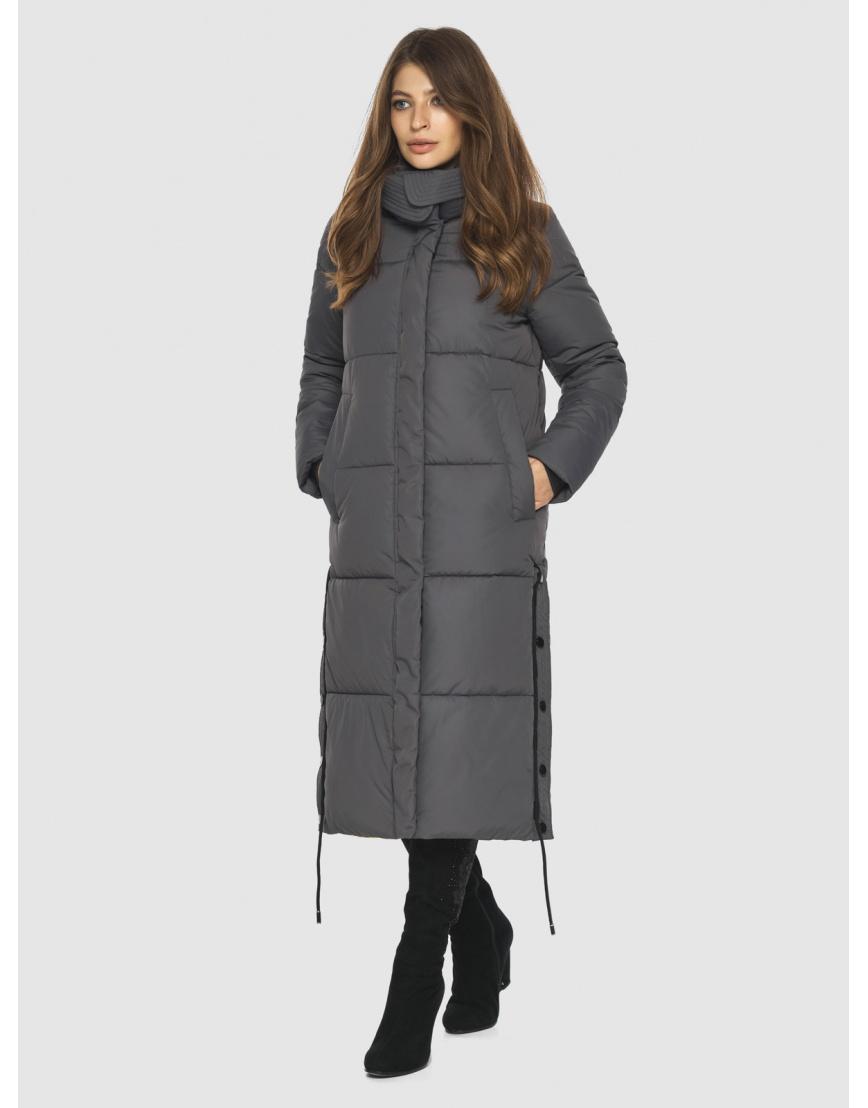 Практичная куртка серая женская Ajento 23160 фото 1
