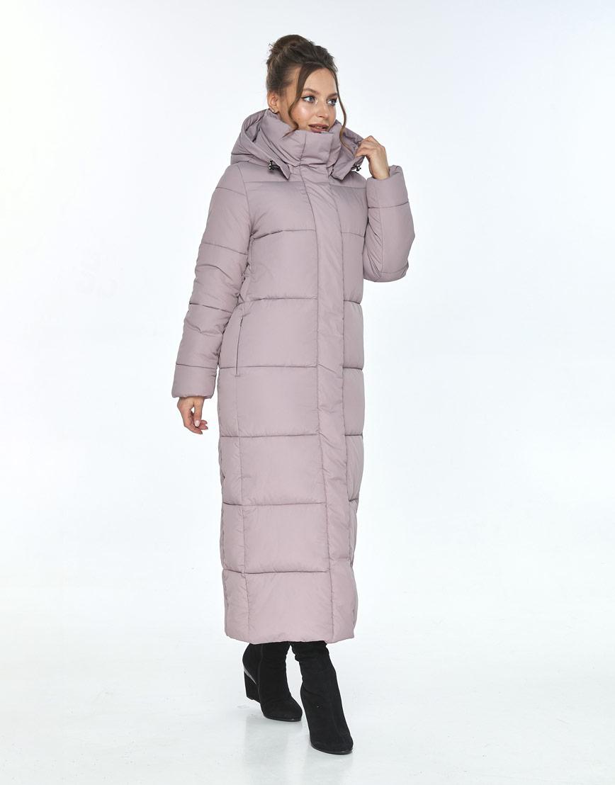 Пудровая куртка Ajento удобная женская для зимы 21972 фото 2