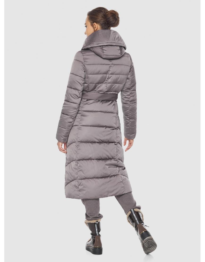 Куртка стильная пудровая женская Wild Club 586-25 фото 4