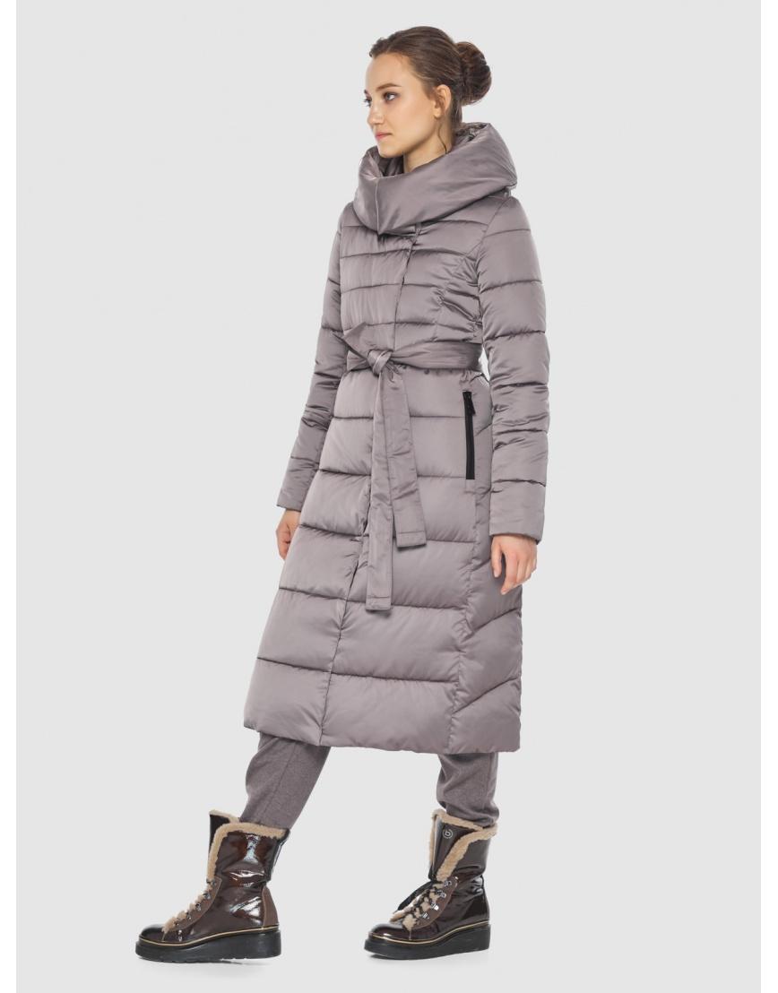 Куртка стильная пудровая женская Wild Club 586-25 фото 3