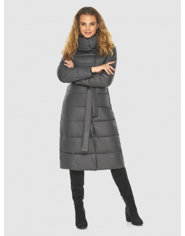 Серая длинная куртка женская Kiro Tokao 60015 фото 1