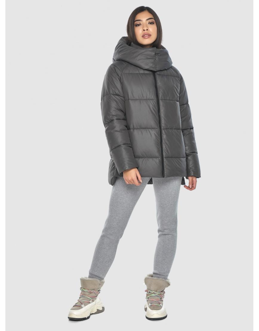 Удобная серая куртка Moc зимняя для подростков M6212  фото 1
