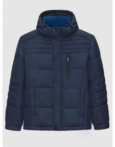 50 (L) – последний размер – зимняя синяя куртка с воротником мужская Ovetssa 200024 фото 1