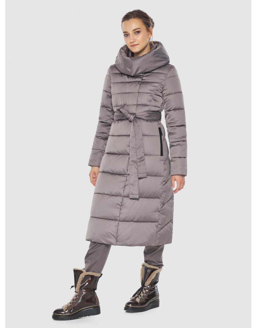 Куртка стильная пудровая женская Wild Club 586-25 фото 6