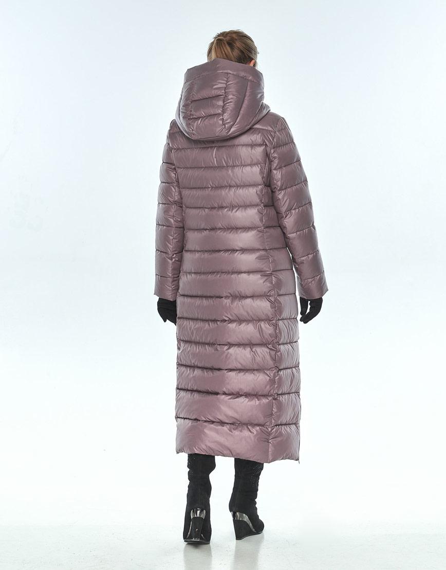 Пудровая куртка Ajento женская на змейке зимняя 23320 фото 3