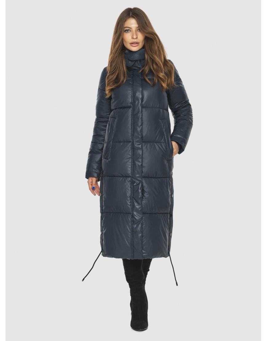 Синяя куртка с карманами женская Ajento 23160 фото 1