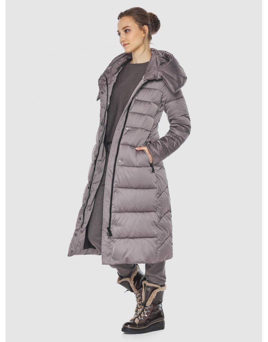 Куртка стильная пудровая женская Wild Club 586-25 фото 5