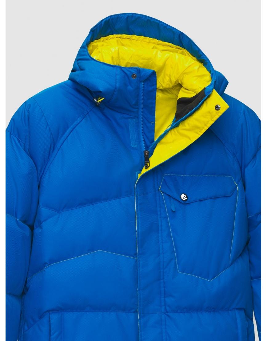 50 (L) – последний размер – горнолыжная куртка мужская зимняя Salomon синяя 200025 фото 3