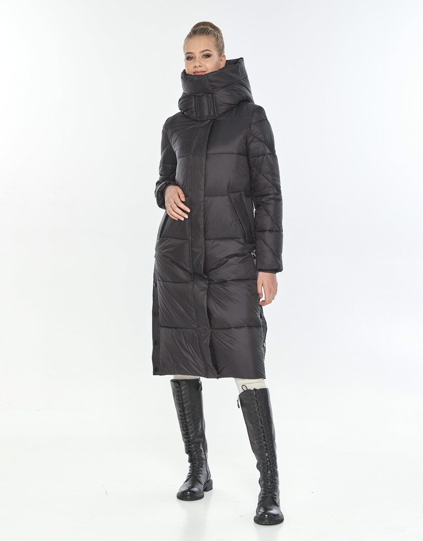 Куртка зимняя удобная женская Tiger Force чёрная TF-50291 фото 2
