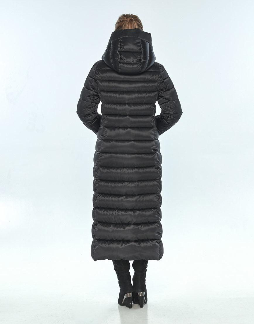 Комфортная зимняя чёрная куртка женская Ajento 23320 фото 3