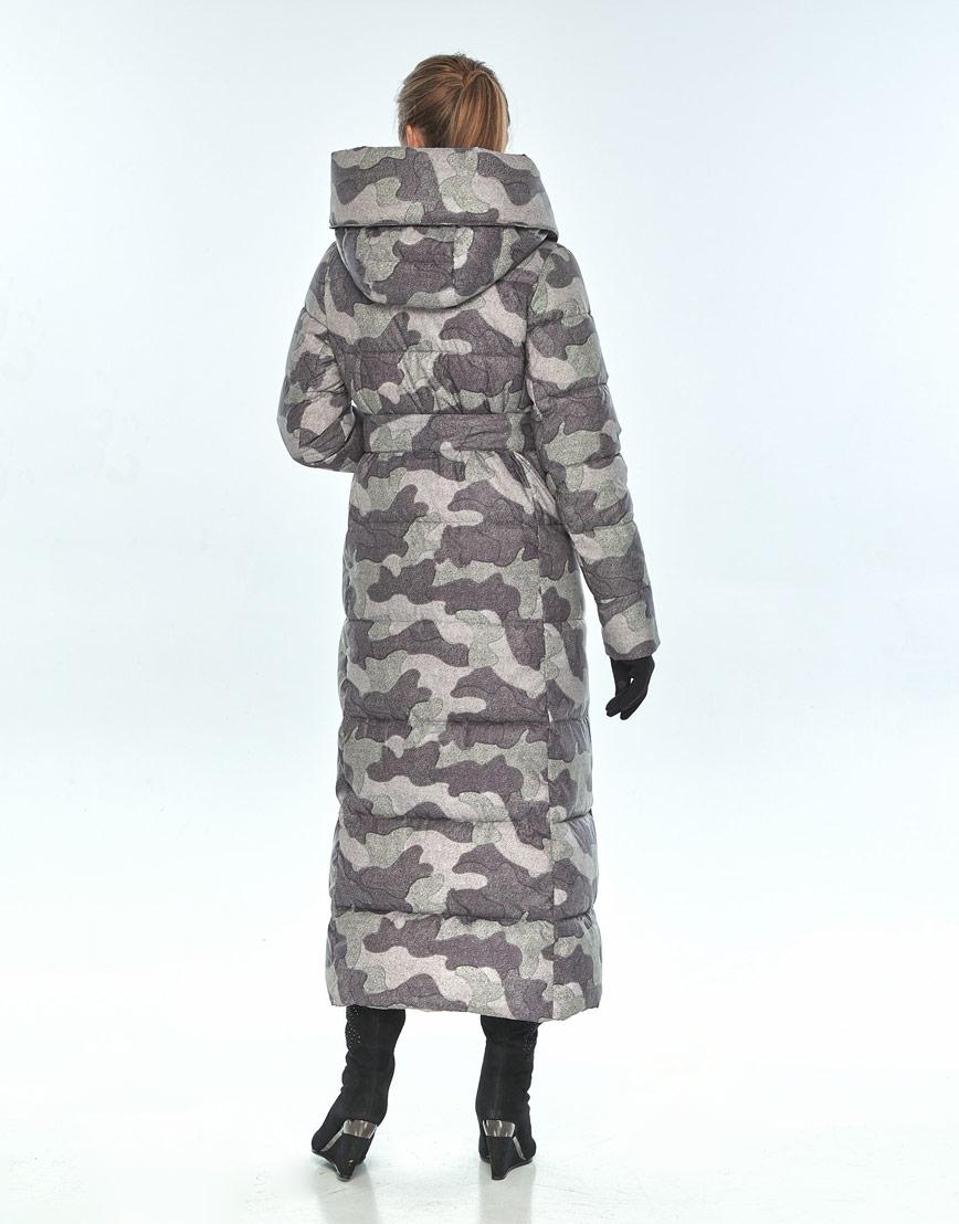 Практичная куртка с рисунком женская Ajento зимняя 22356 фото 3