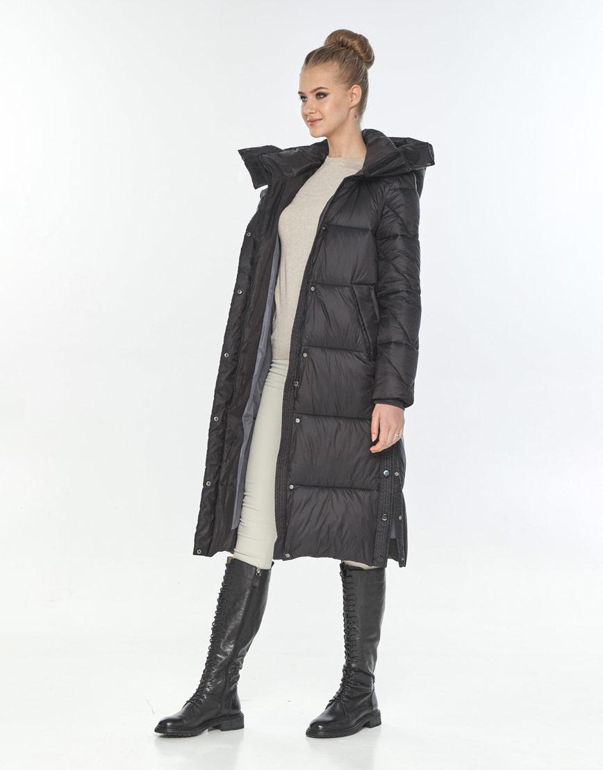 Куртка зимняя удобная женская Tiger Force чёрная TF-50291 фото 1