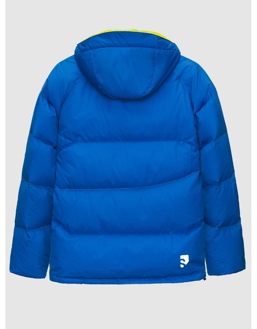 50 (L) – последний размер – горнолыжная куртка мужская зимняя Salomon синяя 200025 фото 2