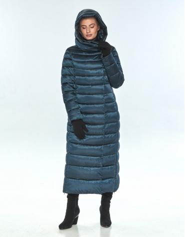 Фирменная куртка зелёная Ajento женская зимняя 23320 фото 1