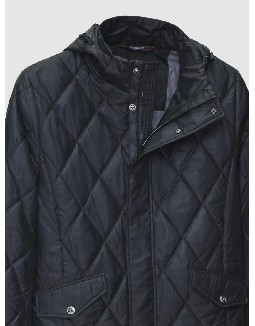 52 (XL) – последний размер – чёрная куртка стёганая Braggart мужская на весну-осень 200026 фото 3
