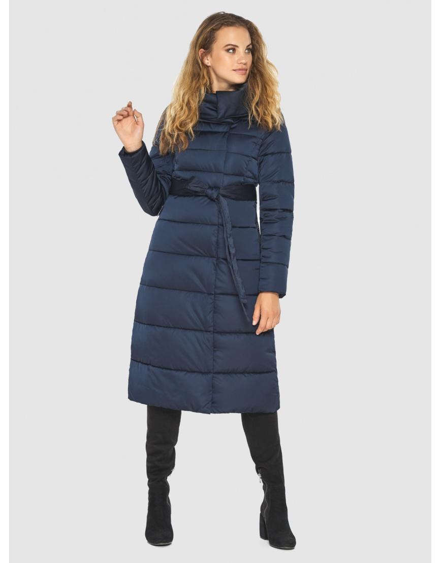 Брендовая синяя куртка женская Kiro Tokao 60015 фото 2