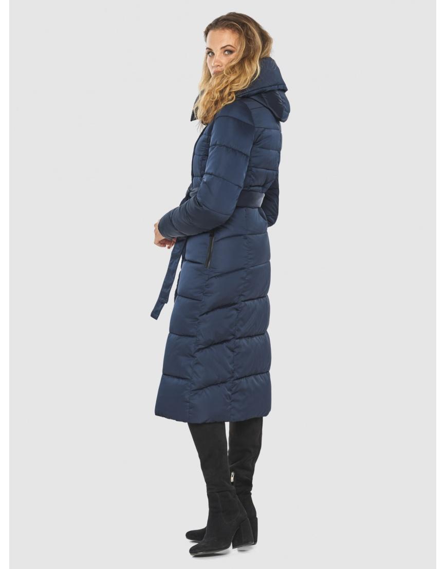 Брендовая синяя куртка женская Kiro Tokao 60015 фото 5