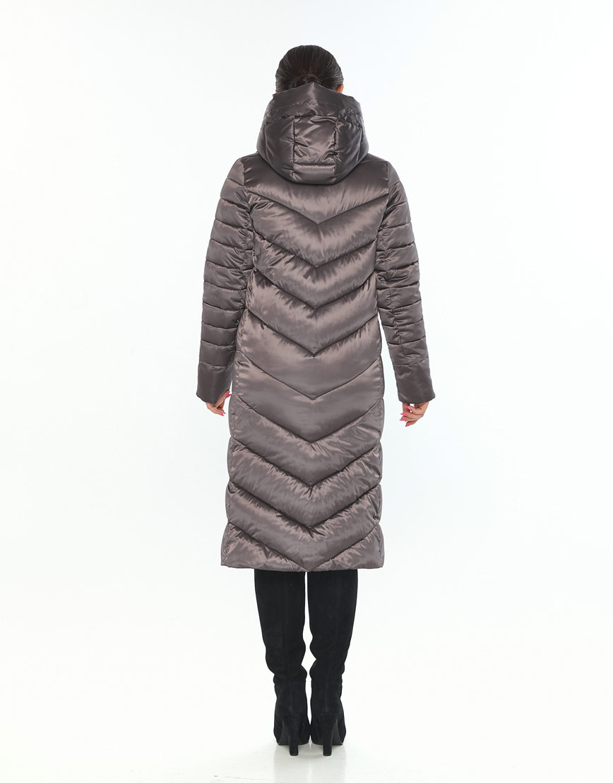 Куртка с манжетами женская Wild Club капучиновая 538-74 фото 3