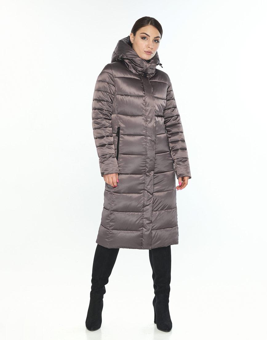Куртка с манжетами женская Wild Club капучиновая 538-74 фото 1