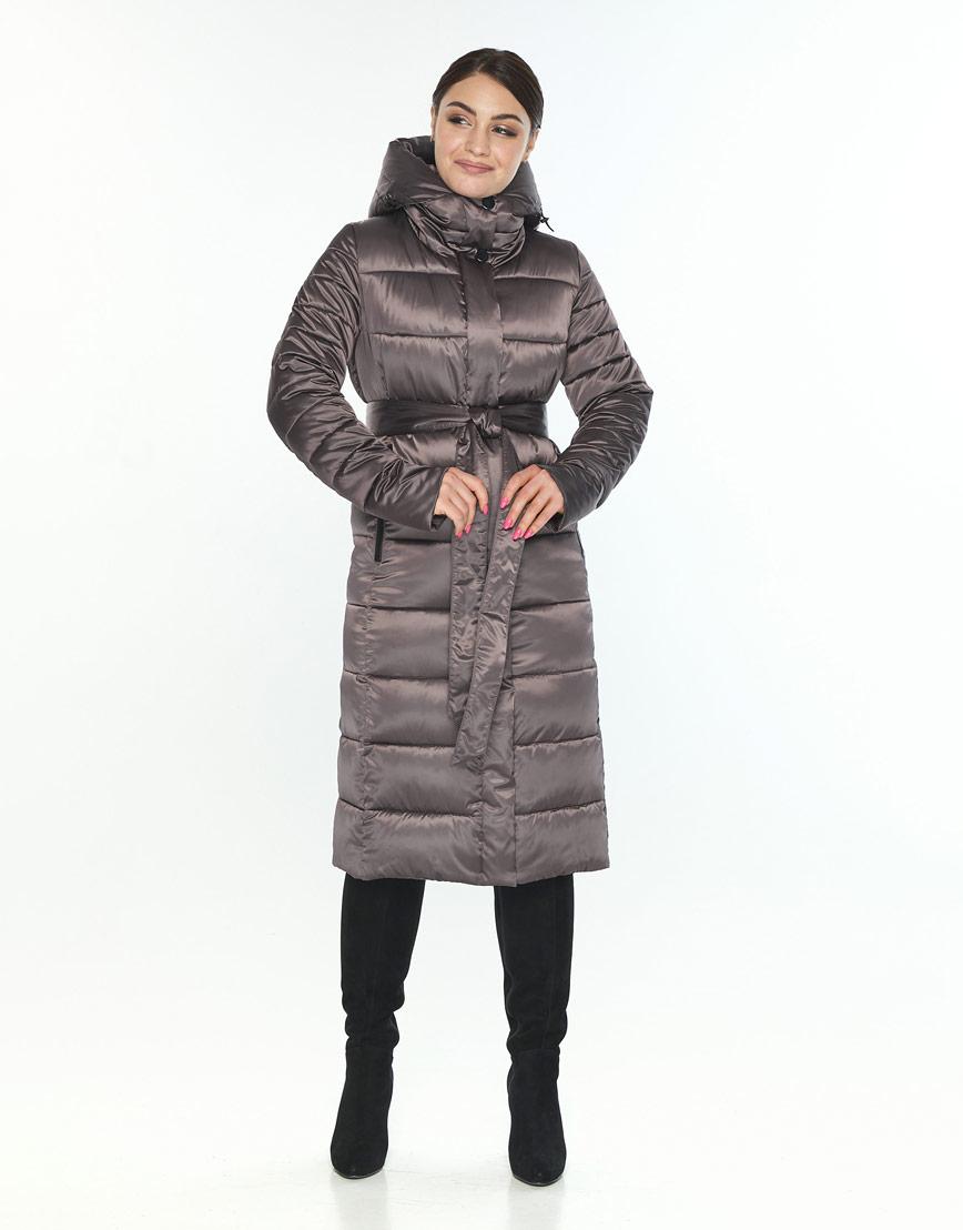 Куртка с манжетами женская Wild Club капучиновая 538-74 фото 2