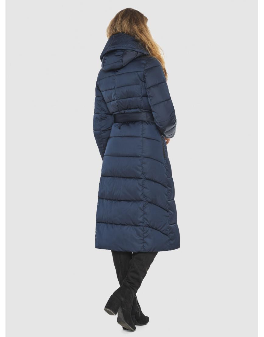 Брендовая синяя куртка женская Kiro Tokao 60015 фото 4