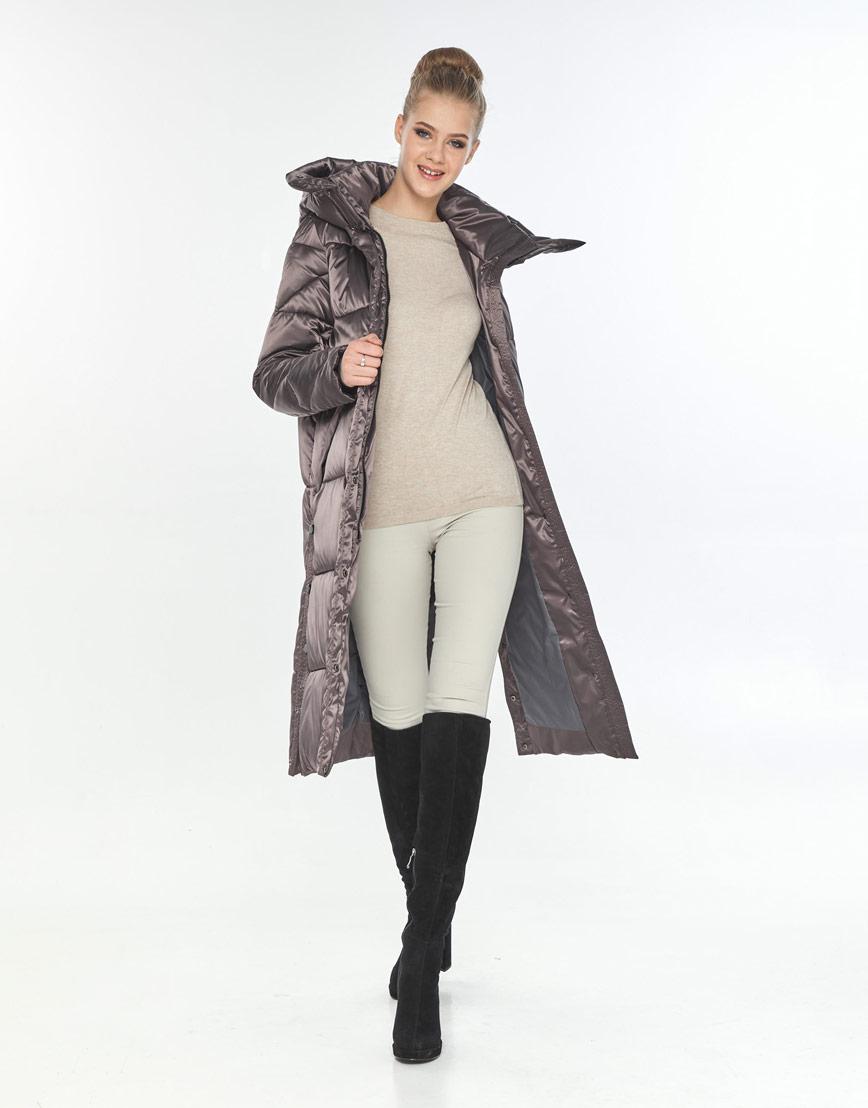 Куртка оригинальная женская Tiger Force на зиму цвет капучино TF-50291 фото 2