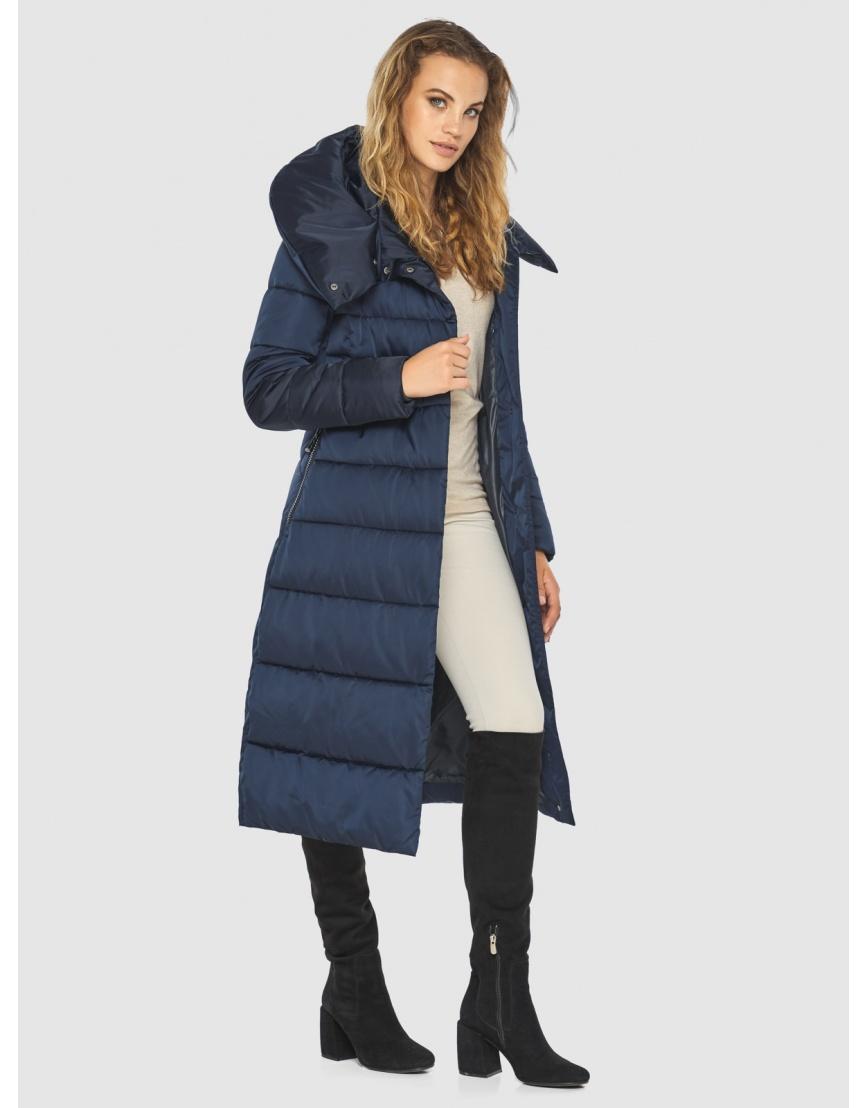 Брендовая синяя куртка женская Kiro Tokao 60015 фото 3